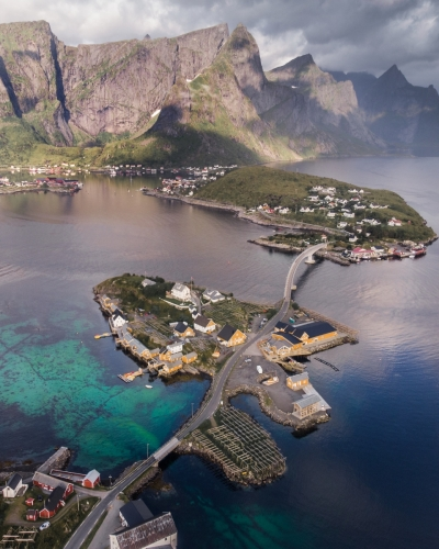 Sakrisøy, Lofoten Islands