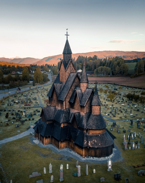 Heddal Stave Church, Norway